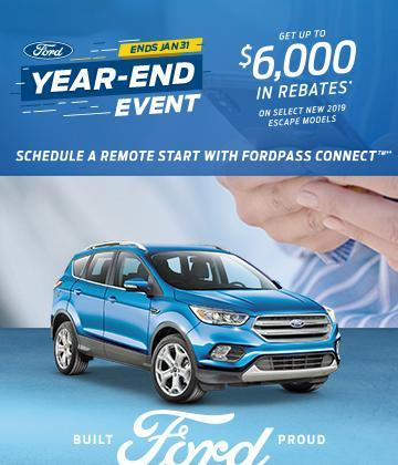Ford Escape Year End Event