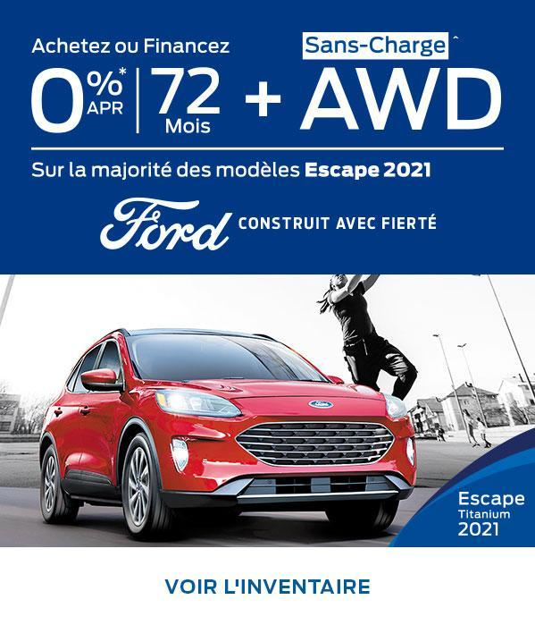 Ford Escape | Ford du Canada