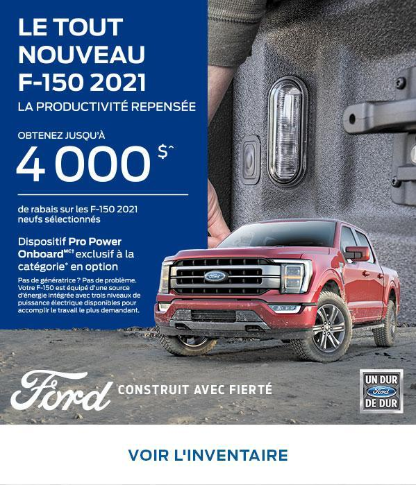 2021 F-150 | Ford of Canada