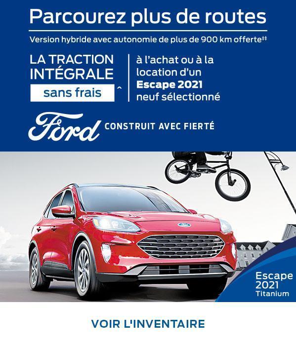 2021 Ford Escape | Ford du Canada