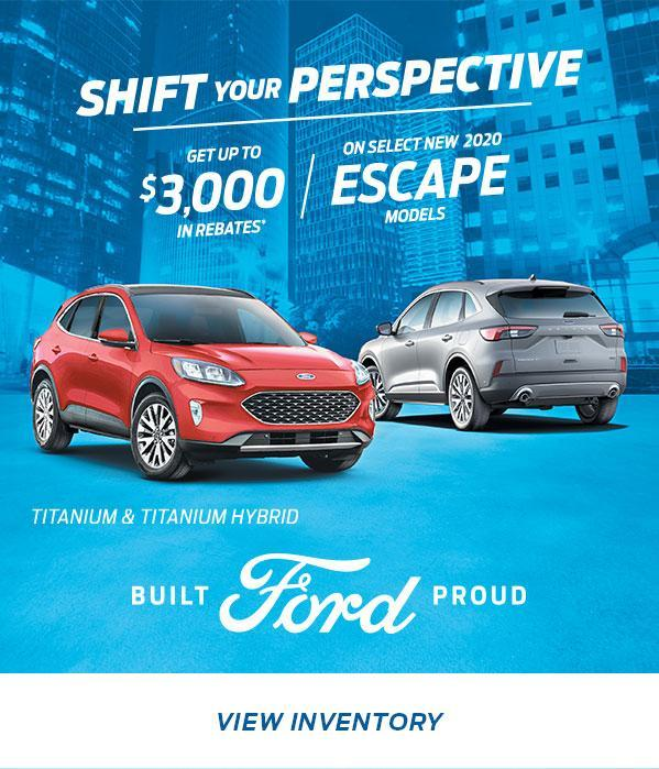 Shift Your Perspective | Ford Escape | Ford of Canada
