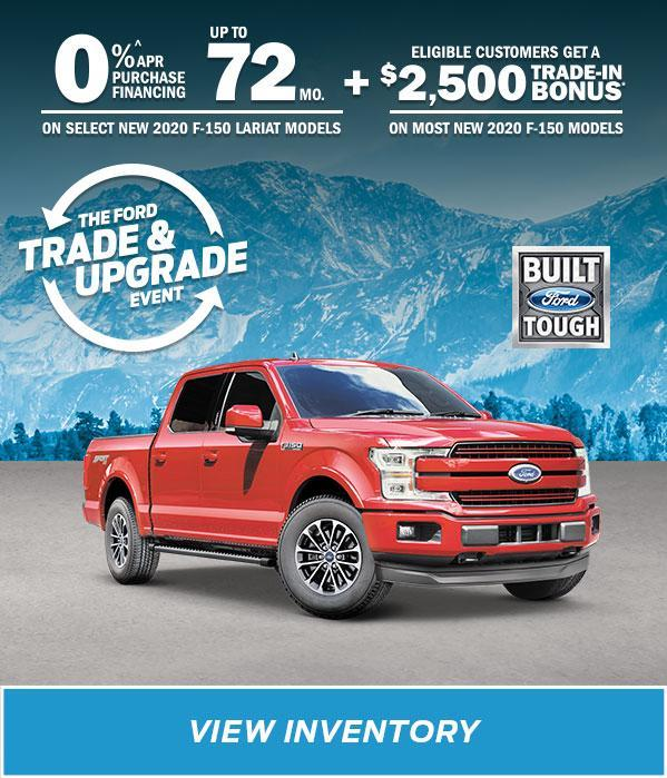 New 2020 Red Ford F-150