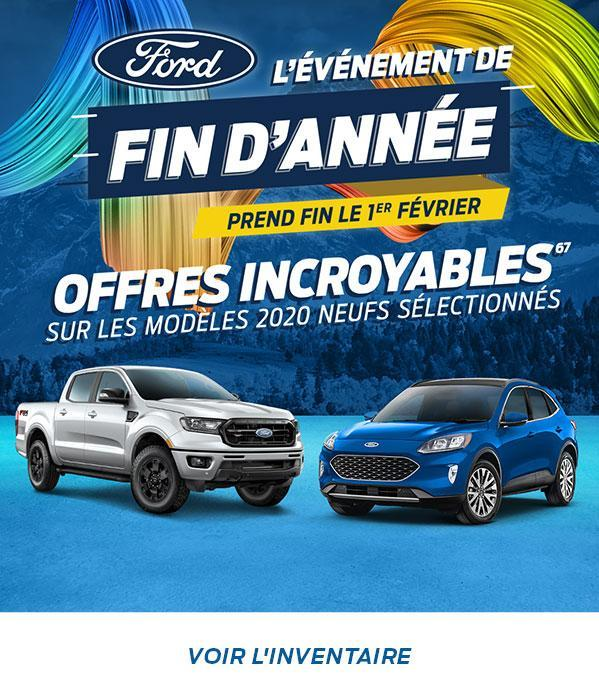 Ford of Canada Year End Event