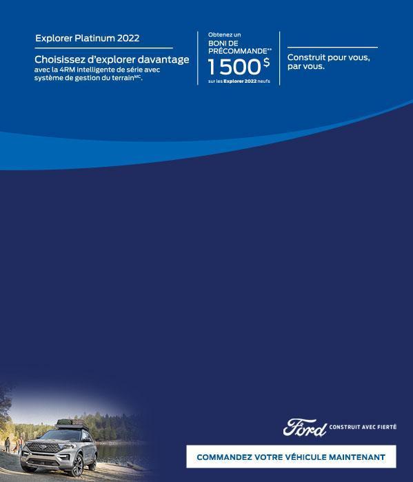 2022 Ford Explorer   Ford du Canada