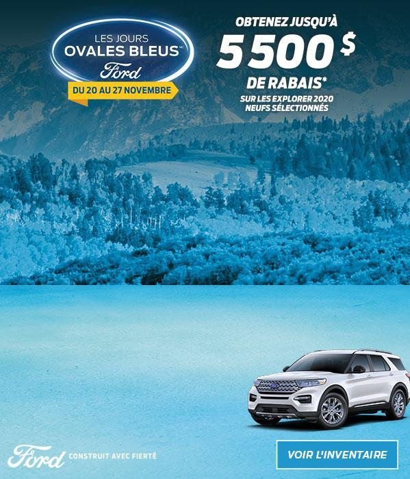 Ford Blue Oval Days | 2020 Ford Explorer | Ford of Canada