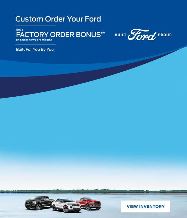 Custom Order Your New Ford | Ford of Canada