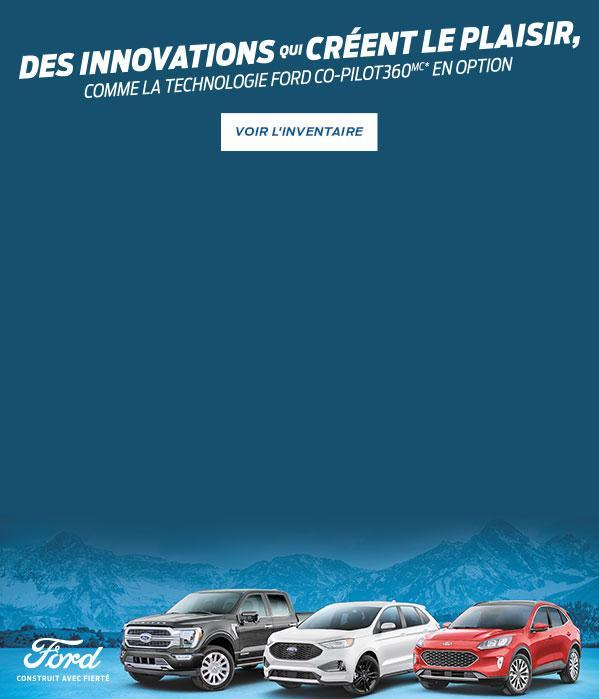 Ford Canada Une innovation qui suscite l'enthousiasme