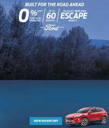 2020 Ford Escape Built for the Road