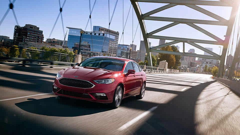 2017 Ford Fusion Sport in Ruby Red Metallic Clearcoat