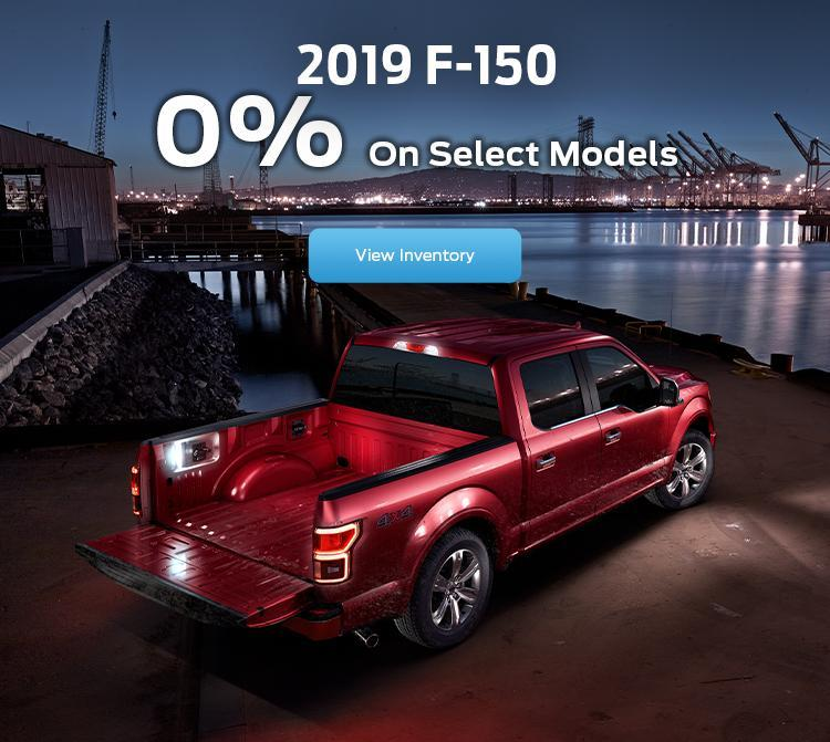 2019 F-150 Red