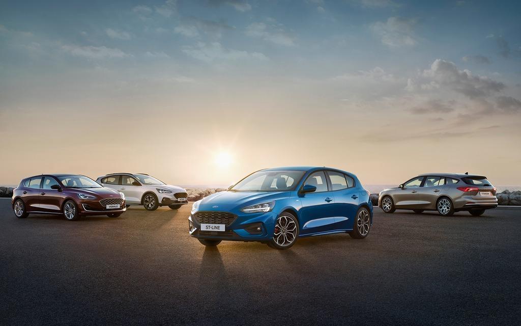 La nouvelle Ford Focus révélée!