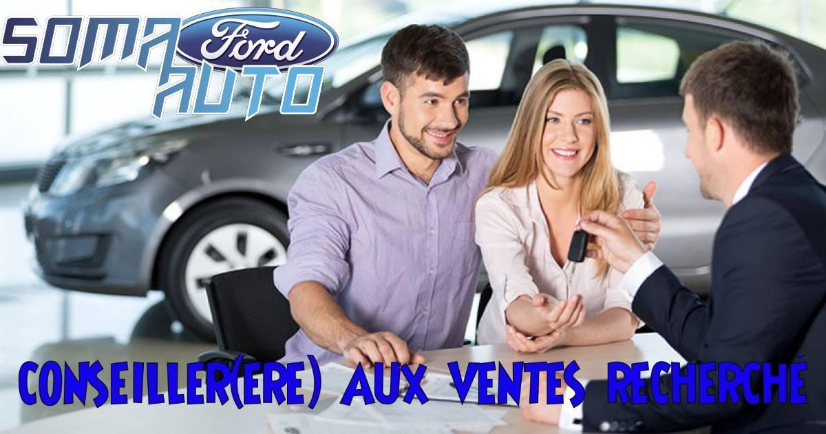 Offre emploi Conseiller au ventes Soma Auto