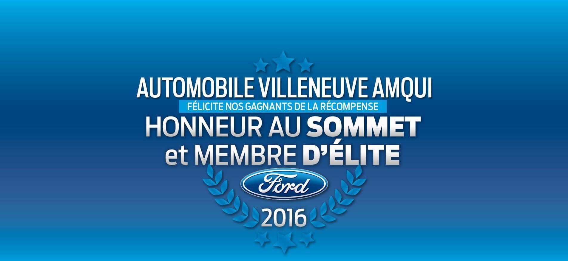 Honneur au sommet Automobile Villeneuve Amqui