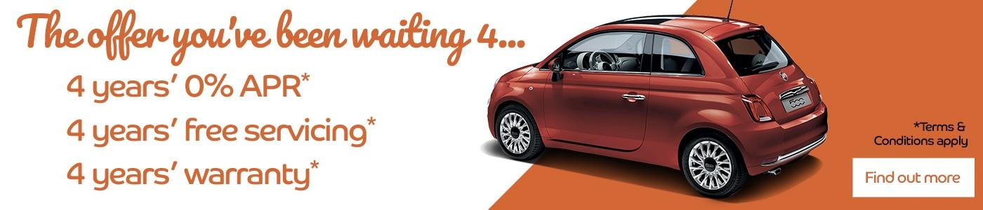 Fiat 500 Offer You've Been Waiting For