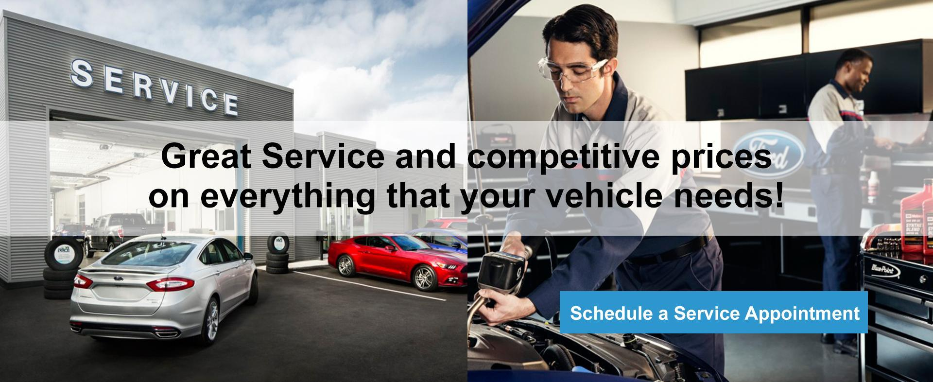 Service Center Webbs Ford
