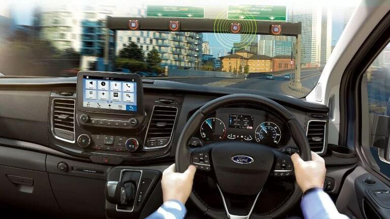 Transit Custom Driving Experience