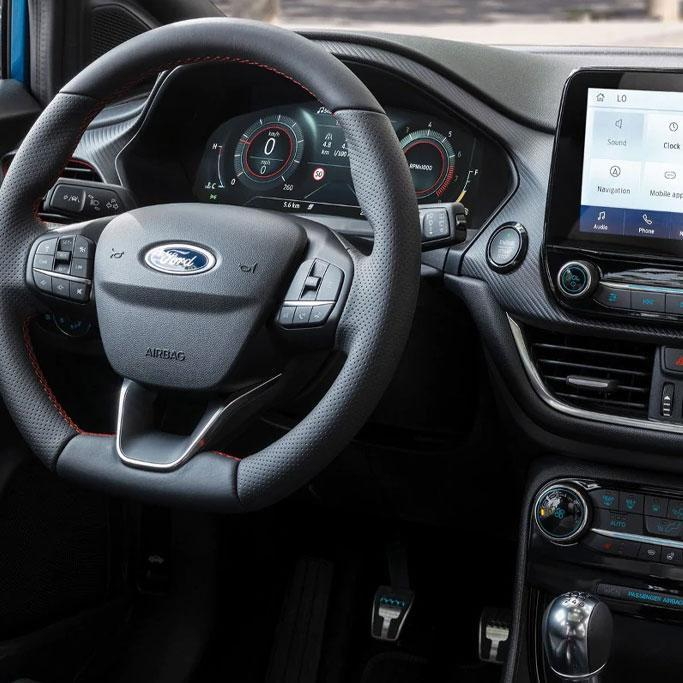New 2019 Ford Puma technology interior