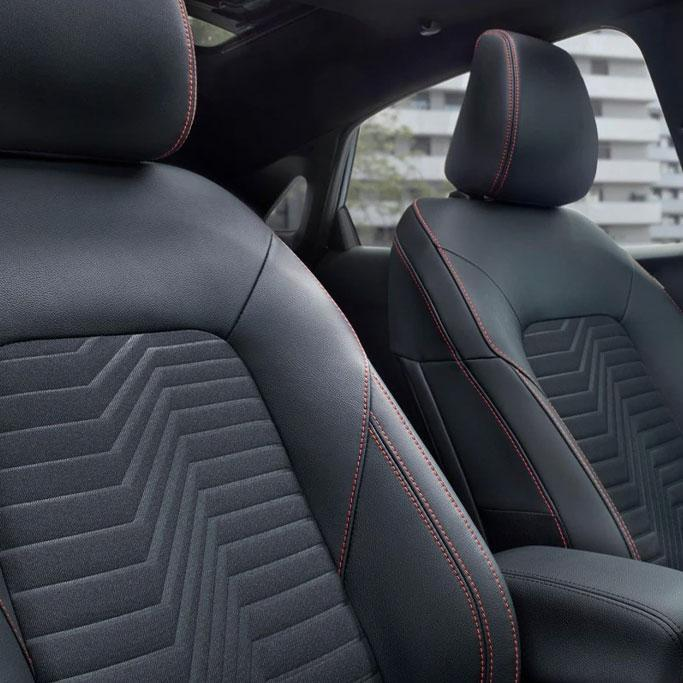 New 2019 Ford Puma interior seats