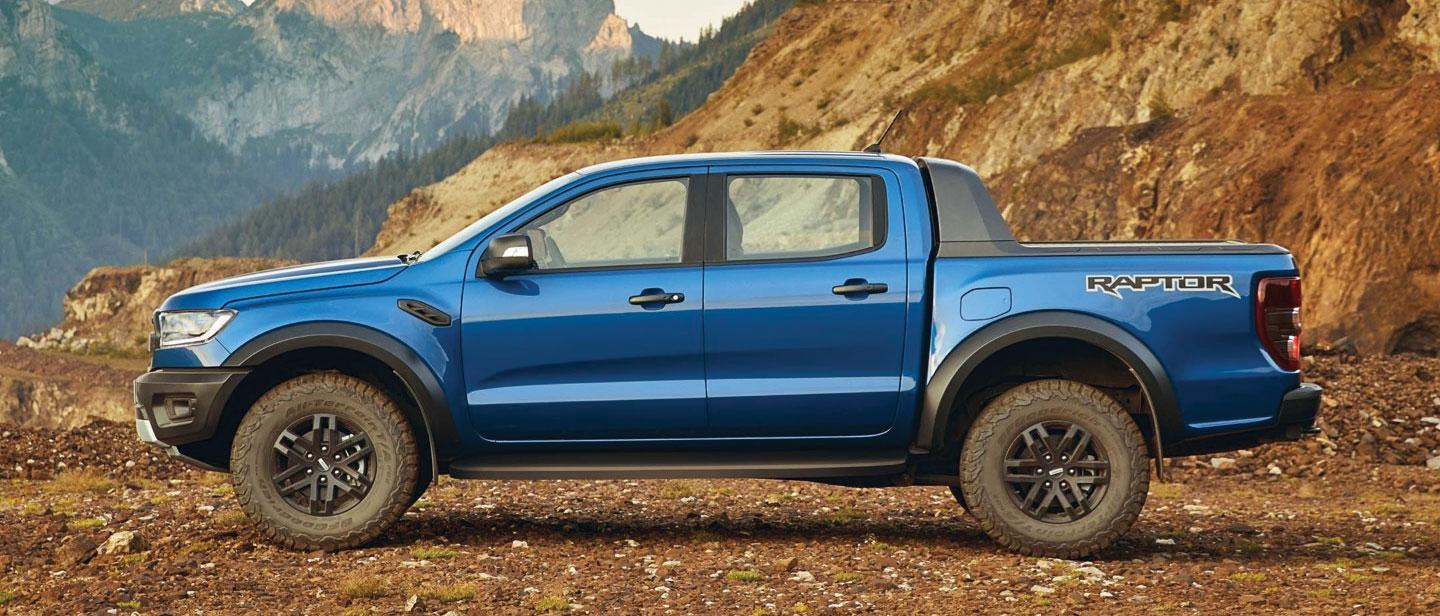 New 2019 Ford Ranger Raptor Blue