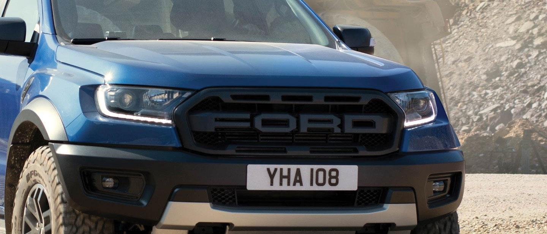 New 2019 Ford Ranger Raptor Blue grill