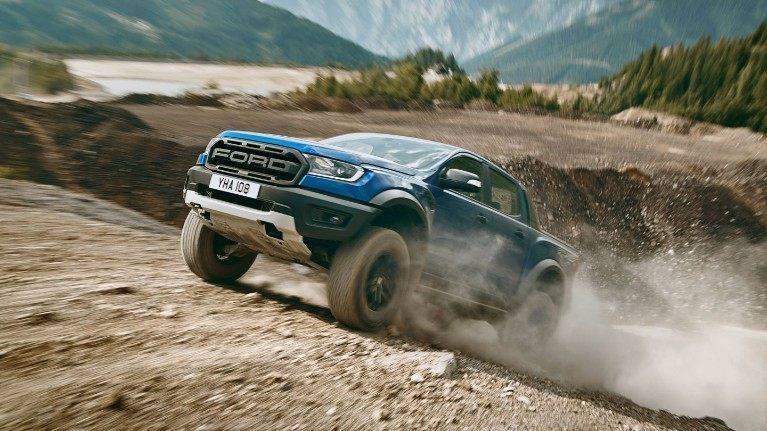 New 2019 Ford Raptor Ranger Blue
