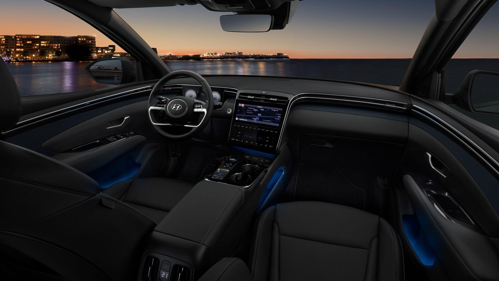 All-New Hyundai Tucson Interior Design