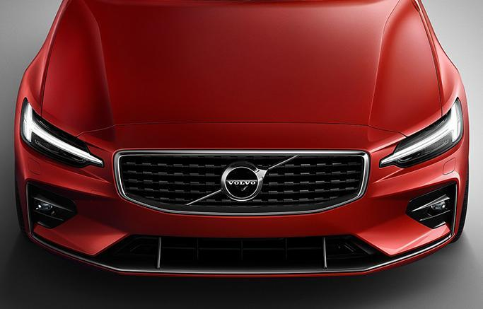 New 2019 Red Volvo S60