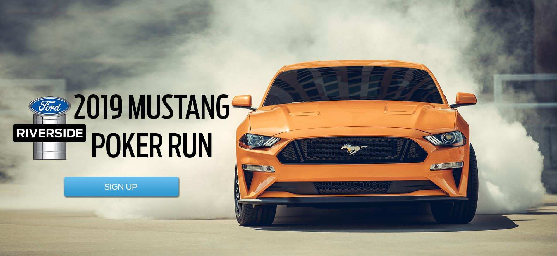 Mustang Poker Run