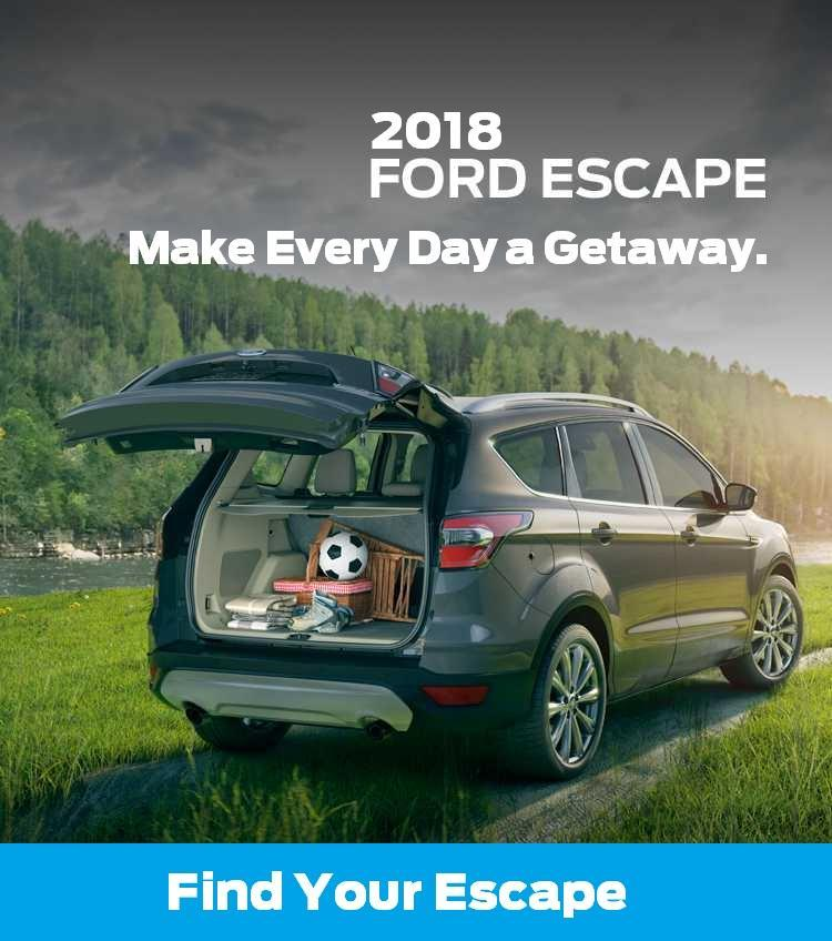 2018 Escape at Suburban Motors Victoria BC