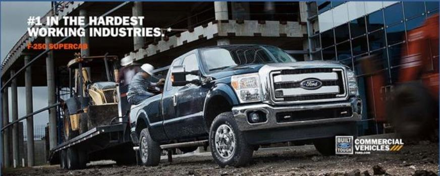 F-250 Supercab commercial vehicles