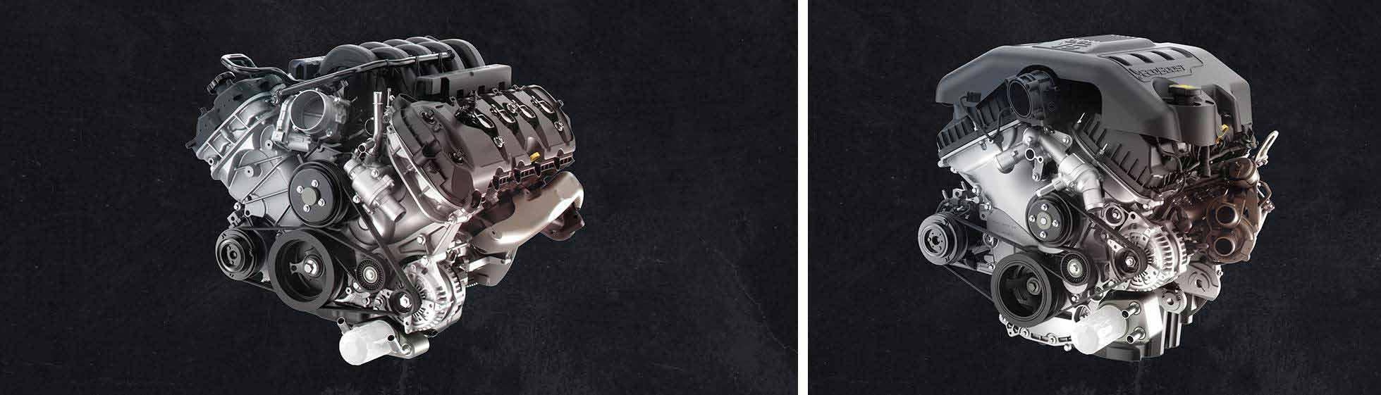 2018 F-150 Engines