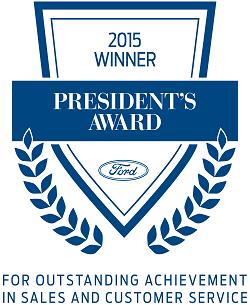 President's Award logo