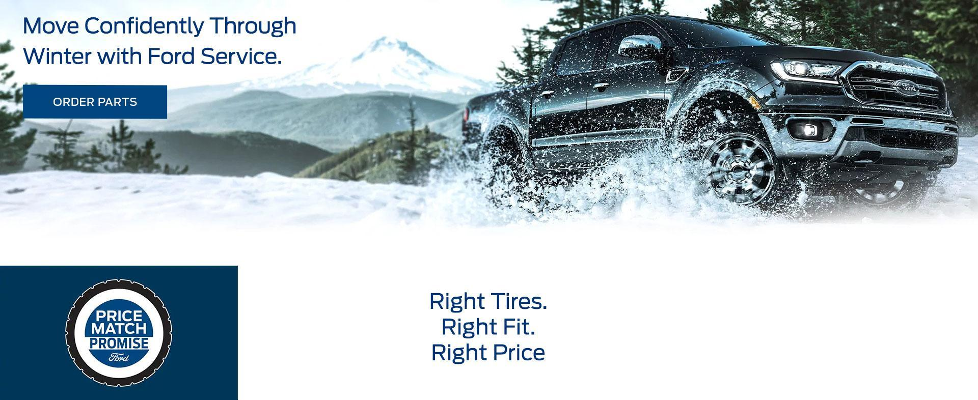 Winter Tires at Plaza Ford