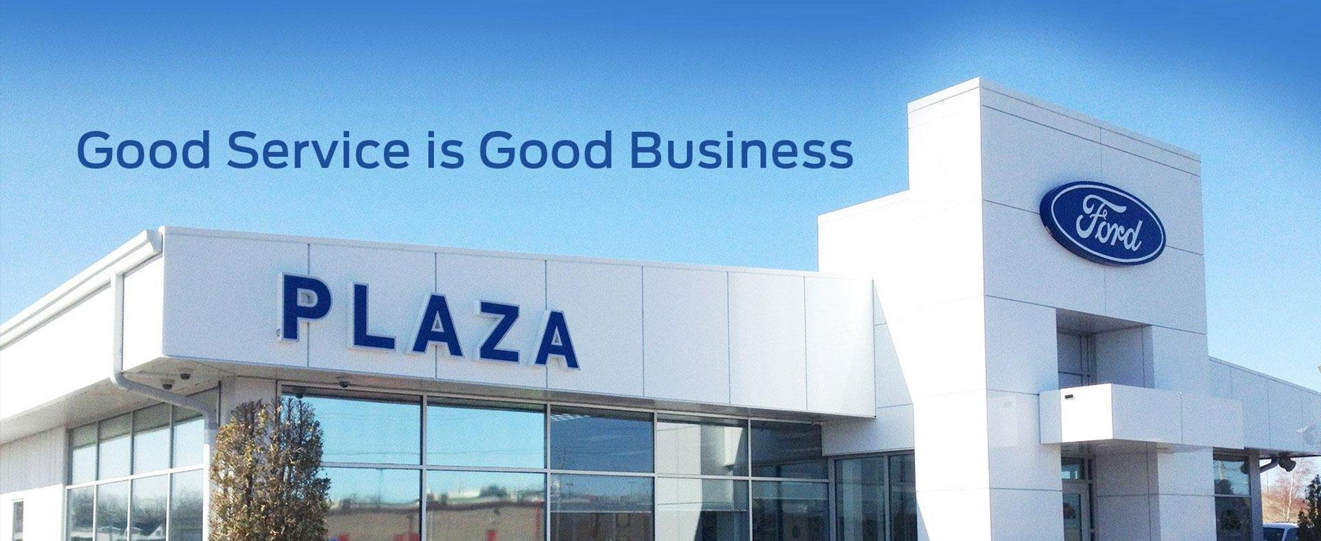 Good Service at Plaza Ford