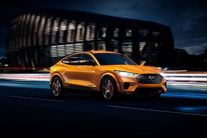 Ford 2021 Mustang Mach-E image