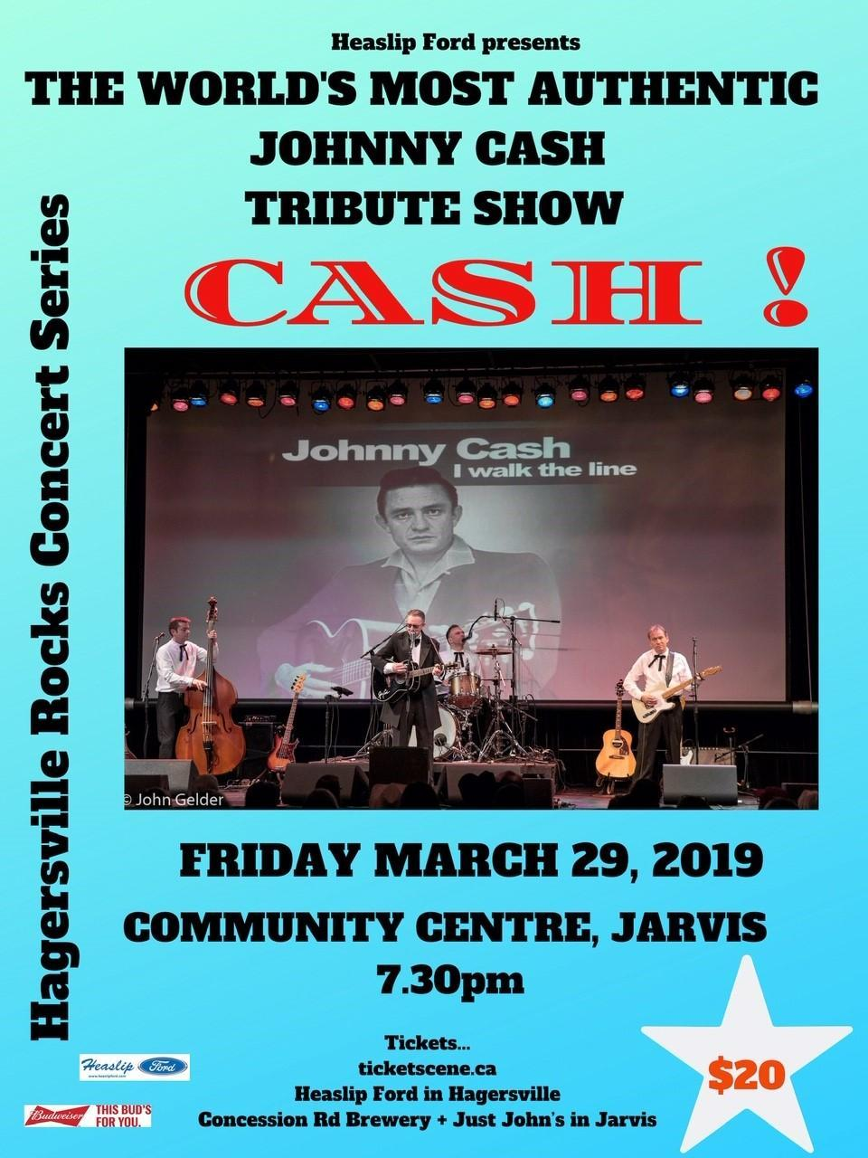 Cash Tribute March 29, 2019
