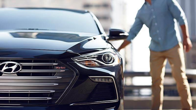 Hyundai Elantra Sport Black