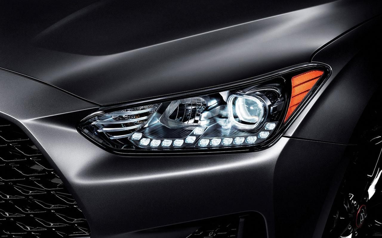 New 2020 Gray Hyundai Veloster Front Lights
