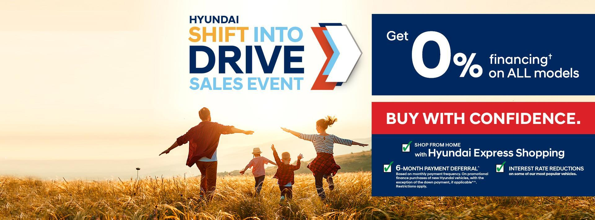 Shift into Drive Sales Event