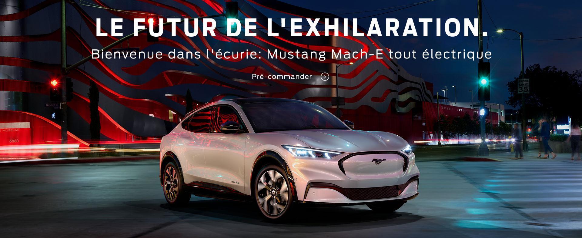 2021 Mustang Mach E