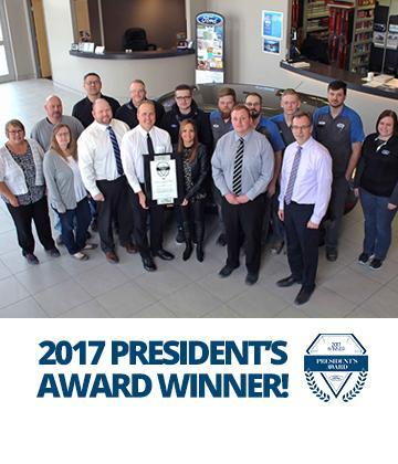 Ford Home President's Award