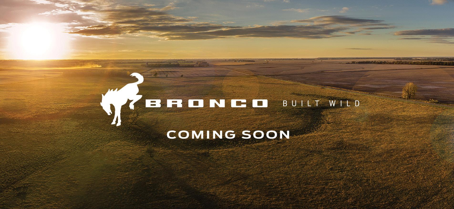 Bronco Coming Soon