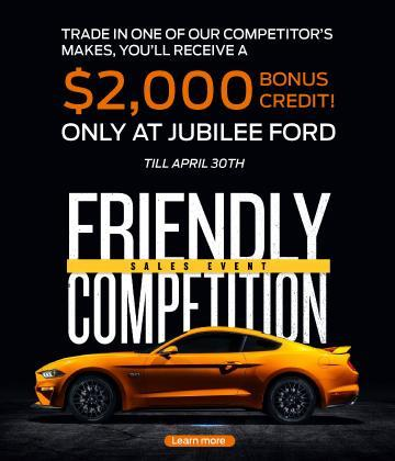 FriendlyCompSalesEvent Jubilee Ford
