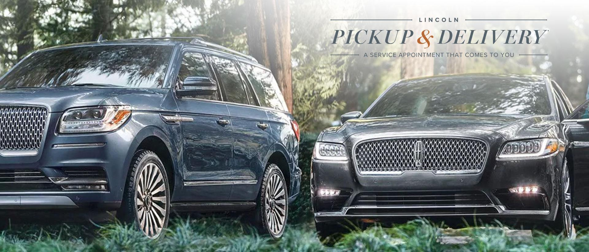 Lincoln Pickup and Delivery | Wayne Pitman Lincoln