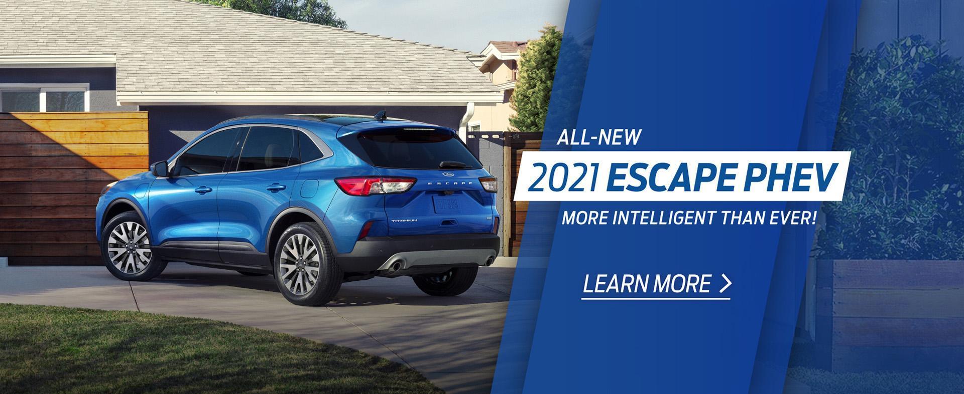 2021 Escape PHEV