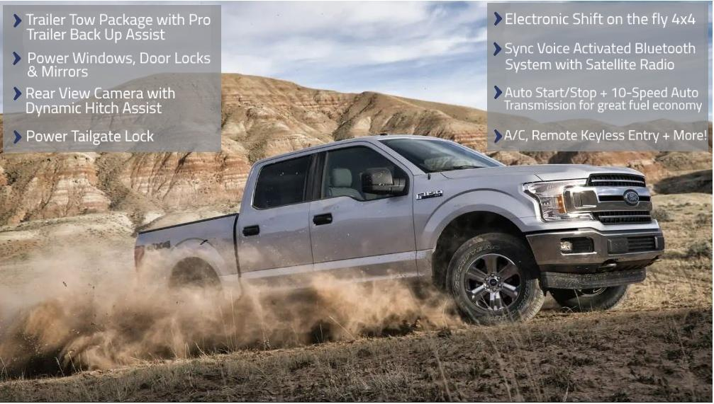 Ford & Lincoln 2018 Ford F-150 Offer image