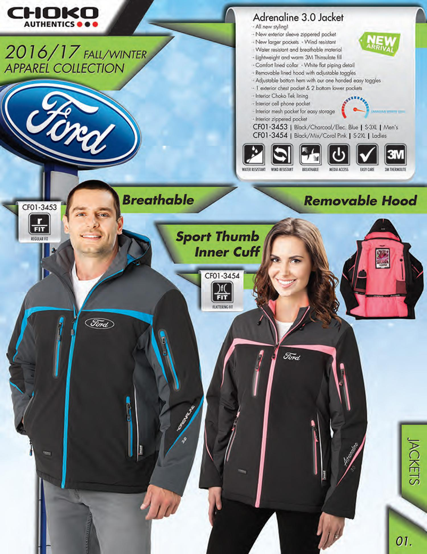 Choko Authentics available from Royal Ford in Yorkton, SK