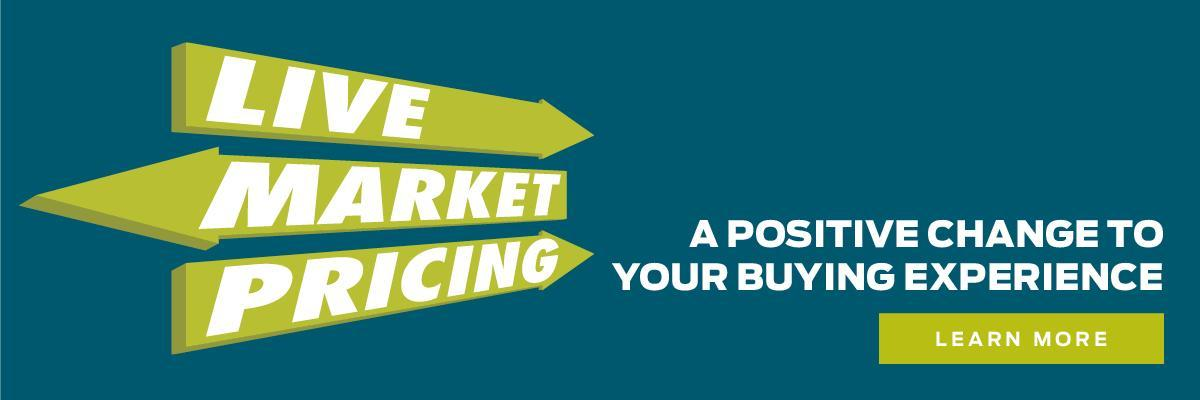 live market pricing learn more