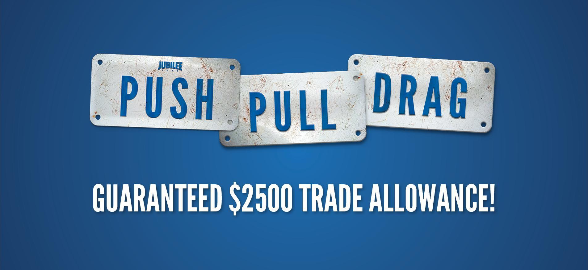 Push Pull Drag Jubilee Ford