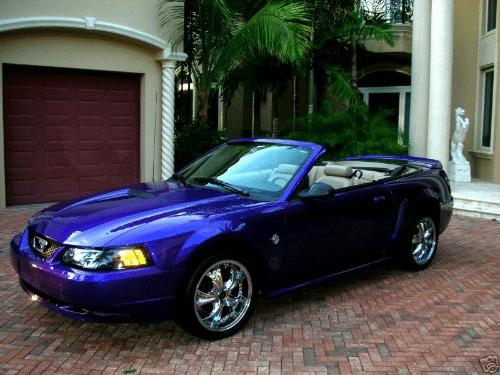 Eminem Ford Mustang